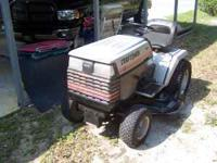 Craftsman 18 HP lawn tractor. Mower deck in excellent
