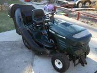 I have a Craftsman Lawn Tractor in very good condition