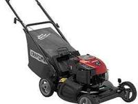 bought new @ sears three months ago- self propelled-