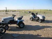 I have (2) Craftsman riding lawnmowers: ($400 for