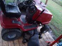 CRAFTSMAN DYT 5000 RIDING MOWER TRACTOR FOR SALE NO