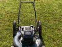 Craftsmen Mower 22in Self propelled Bag is able to be