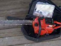 I habe a Craftsmen chain saw for sale for 25.00 it runs