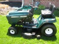 MINT CONDITION Craftsman riding mower! 19.5 HP Turbo