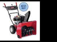 Craftsmen snowblower for sale. 24 in path, 21 in