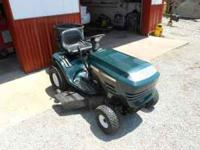 I have a LIKE NEW craftzman lawn mower with 16 hp