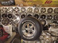 CRAGAR SS WHEELS chrome classic car rims posted: