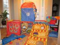 Cranium Super Fort - All pieces included *Ring toss