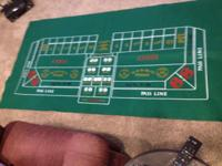 Play craps in the house. Teach the video game! Great