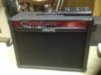 An amp for the power-mad guitar player. You get a lot