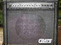 Crate GX-30M electric guitar amplifier. Made in the