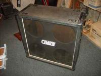 "I have an empty Crate 4x12"" speaker cabinet, model"