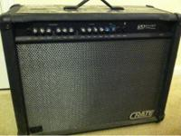 Great condition Crate Guitar Amp for sale.  Has affects