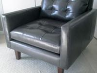 Purchased this brand new leather charcoal gray Petrie