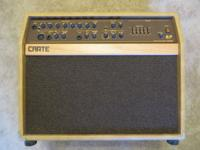 For sale used Crate CA125D Acoustic Amplifier in good