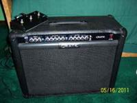 Good amp, works perfectly. Goes for $200 used on