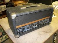 CRATE CR285B BASS AMP HEAD This features a hard to find