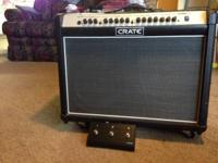 For sale as is: Crate FlexWave 120 Watt Amp. Amp does
