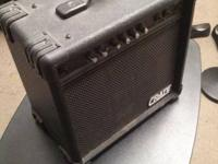 Fully working Crate GX-15 amp. Great price for a nice