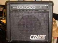 I have a Crate GX-15 practice amp for sale. You can see