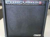 Hi, Today I am selling my guitar amp. Sounds great with