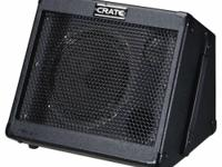 "We are offering a little 8"", 15-watt Crate Taxi powered"