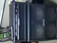 Crate gt1200h amplifier. 120w comes with 4x10 speaker