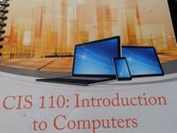 CIS-110:Intro to computers, custom edition for CCC.