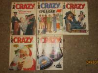 Crazy Collectors Magazines $2 each  Issues August 1979,