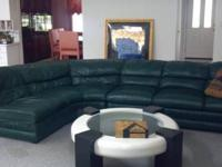 Nice huge leather chaise lounge available fopurchase.