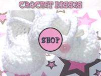 Create Your Baby's Crochet Kisses Baby Shoes and Baby