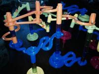 We are selling kids' creative toys -- train tracks for