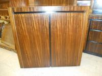 Credenza / Buffet with a Shelf has a few dings and 1