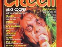 "Up for sale is the July 1975 issue of ""CREEM"","