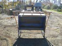 Creep feeder for sale for calves, goats, or sheep. Has
