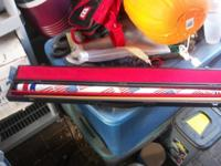 Crest 2-piece Pool Cue Stick U.S. Flag 21 Oz. 58 ""