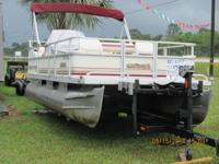 This 18 foot sport fisherman is a 2000, it has full