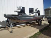 ALLOW'S GO FISHIN'! CRESTLINER ANGLING BOAT SALE. 12 TO