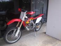 2005 Honda CRF 450R The top end was just rebuilt with