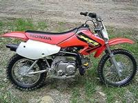 Honda 2004 crf450r dirtbike. New stuff that was done