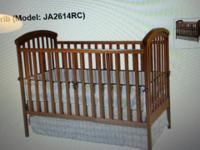 gorgeous jardin convertible baby crib and matching