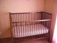 I'm selling an crib and mattress for 50.00 OBA. My