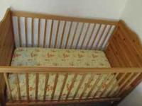 Crib and mattress like new from a non smoking house...