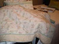Like New--was on my grandbaby's bed and was used very