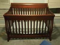 In very good condition my son grew out of his crib. The