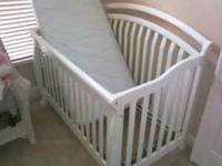 2 Cribs( one of them converts to junior bed with side