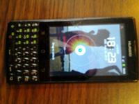 This is a Cricket Hauwei android phone. The phone works
