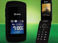 "Newest Cricket Flip phone Kyocera Kona  2.4"" display"