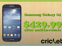 Stop in and take a look at the New Cricket Wireless. We