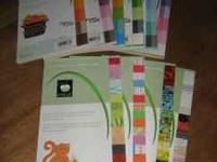 I have 10 Pads of Solid colored and Designed Cricut